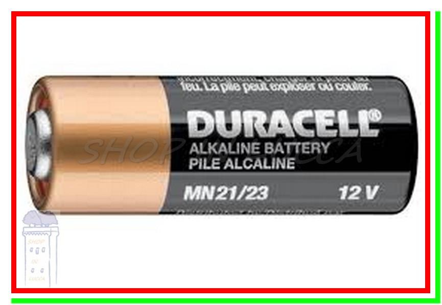 Batteria pila duracell mn21 a23 v23ga lrv08 gp23a l1028 - Pile 23a 12v ...