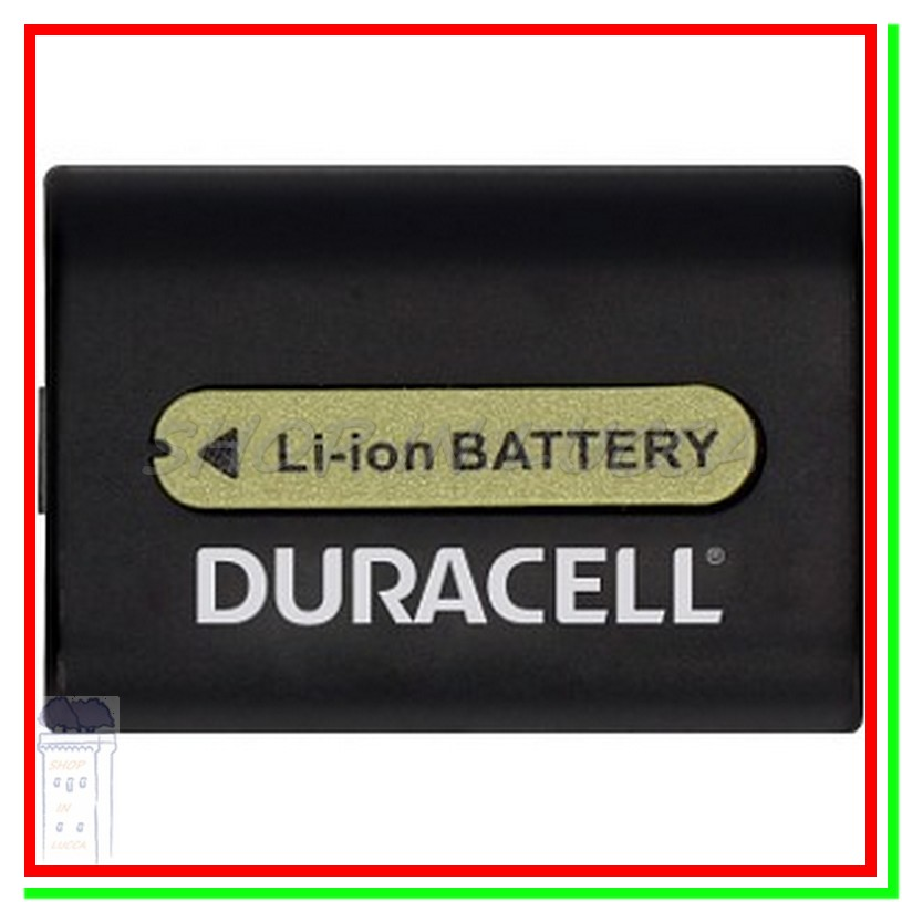 Batteria Ricaricabile DURACELL DR9700A = SONY NP-FH50 x DSC-HX200 A390 HDR-UX10