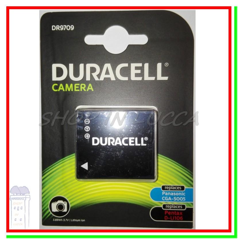 Batteria Ricaricabile DURACELL DR9709 = CGA-S005 D-LI106 NP-70 BP-DC4 DB-60